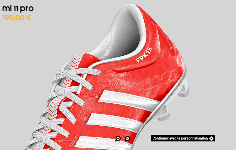 créer ses chaussures de foot adidas