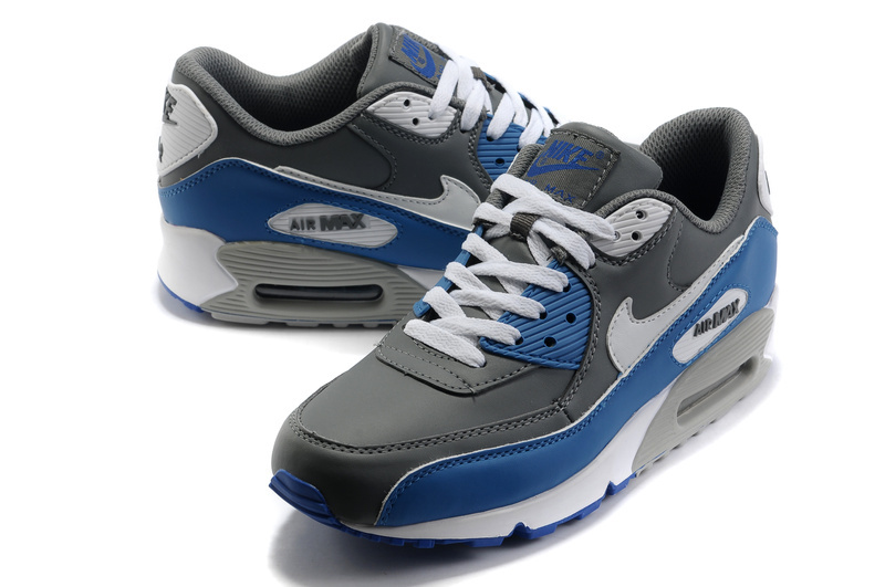 on sale 1f1d7 662b9 nike air max 90 femmes skyblog 67490 bleu gris. New Style Bleu Gris Blanc  Nike Air Max 90 Ltr New Slate Bleue - Chaussures Homme DFY5D63QN32T